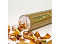 Пневмохлопушка 8230 Золотое конфетти в пластиковой тубе, 30 см