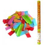 Пневмохлопушка 8260 Бумажное конфетти в пластиковой тубе, 60 см