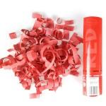Пневмохлопушка 82N20R Красное конфетти, 20 см (бумага)