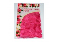 Лепестки роз R30P розового цвета